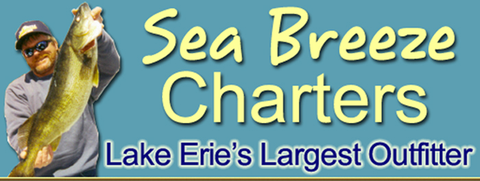 Ohio's Premier fishing charter service Sea Breeze Charters will make your Lake Erie walleye charter a success!