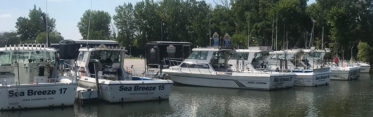 Boats for Lake Erie Fishing Charters